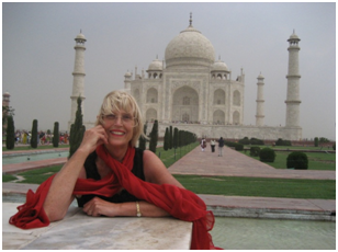 That's Me at the Taj Mahal